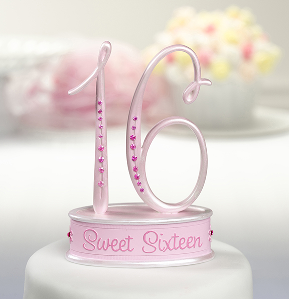 Sweet 16 Cake Top | Favors with Flair!